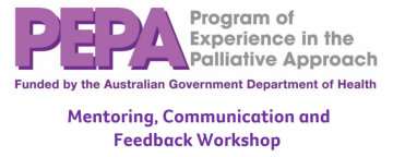 PEPA Mentoring workshop